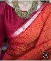 Exclusive Indian Linen Designer Saree
