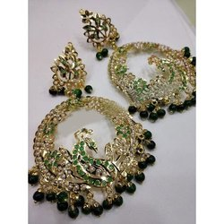 Drop Earrings Wedding Earrings Set, Size: 2-4 Inch