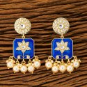 Ramagreen Classic Indo Western Trendy Earring With Gold Plating 100271