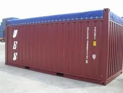 20 FOOT OPEN TOP SHIPPING CONTAINER