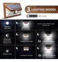Refurbished 24 LED Solar Powered Motion Sensor Light