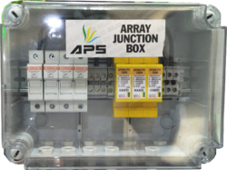 Plastic Rectangular Solar Array Junction Box, IP Rating: 65