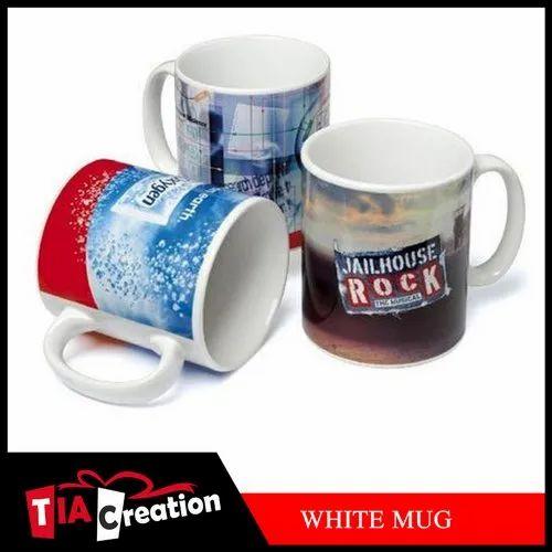 Blank Sublimation White Coffee Mug