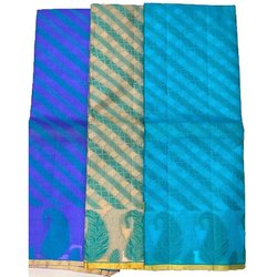 Party Wear Printed 6.3 M Katan Silk Saree