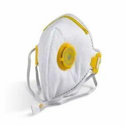 Respirator Fold Flat Valved Dust Mask