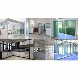 Aluminum Fabrication Glass Work, Corporate