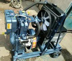 Diesel Engine Generator Set, Power: 10 kVA