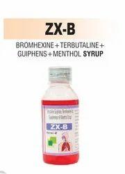 Bromhexine & Terbutaline & Guaiphenesin & Menthol Syrup