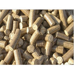 Sawdust Biomass Briquette, Thickness: 75 mm, for Boiler
