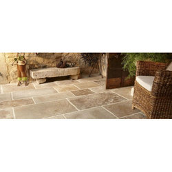 Porcelain Natural Stone Floor Tiles, Thickness: 0-5 mm