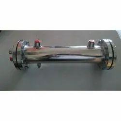 Copper Mild Steel Heat Exchanger Heat Exchanger, For Industrial, Water