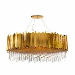 Brass Modern Chandelier