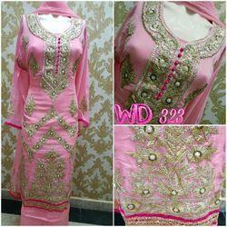 Georgette Party Suit W-323