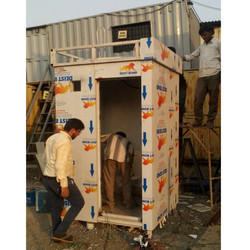 Steel Mobile Toilets