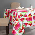 Custom Cotton Table Linen Cloth With Digital Printed Design