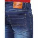 Men Blue Cotton Jeans