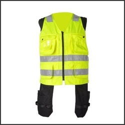Flame Retardant High Visibility Reflective Security Jacket