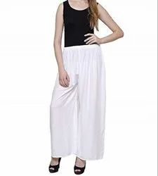 V R Crafts Fashion Western Wear Rayon Palazzo Pants For Female