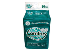 Comfrey Adult Diapers Large For Waist Size 40-55 Inches
