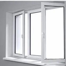 Hinged White UPVC Casement Window