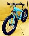 Mercedes Benz Blue Shark Fat Tyre Cycle