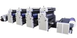Four Color Roll To Roll Non Woven And Paper Printing Machine