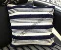Multicolor Woven Cotton Stripe Pillows Covers