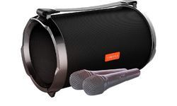 CORSECA Safari 5 DMS1845 Karaoke Bluetooth Duet-Ready Portable Speaker with SuperBass