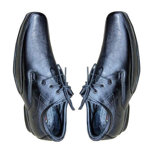 b8d41ef7cf6 Amriwala Mens PU Sole Black Formal Shoes