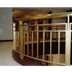 Brass Balcony Railing