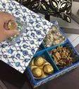 Rawsome Shack Enamel Coated Wooden Dryfruit Box