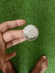 1918 One Rupee Indian Coine