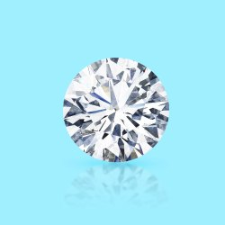 CVD Diamond 2.12ct F VVS2 Round Brilliant Cut IGI Certified Stone