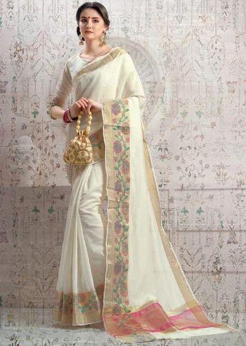 0e7970892743ff Cotton Silk Multicolor Banarasi Silk Saree