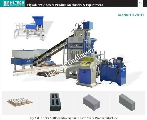 Build Con Fully Automatic Fly Ash Brick Making Machine
