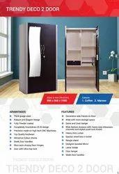 Metal 2 door designor powdercoated cupboard
