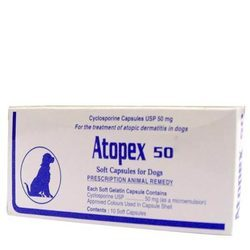 Atopex 50 Mg Capsules for Dog
