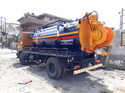 Chasis Mounted Sewer Suction Machine