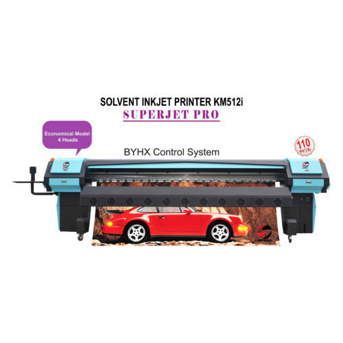Superjet Pro Large Format Solvent Printer