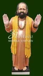 Marble Human Guru Maharaj Statue