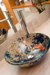 Ceramic Bowls Table Counter Designer Wash Basin Bowl