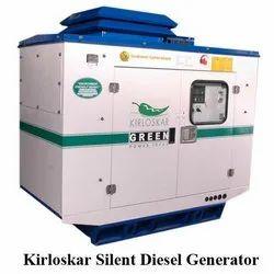25kv To 1000kv Kirloskar Silent Diesel Generator, Three Phase