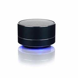 Round Metal Portable Speaker
