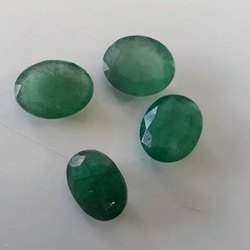 Cut Stone Emeralds