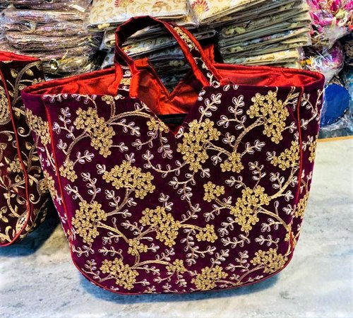 Jari Embroidery Handbag