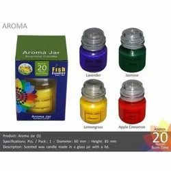 Aroma Glass Jar With Lid Fragrance Candle