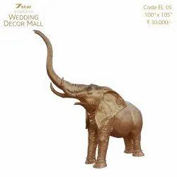 EL05 Fiberglass Elephant