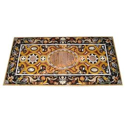 Beautiful Stone Inlaid Table