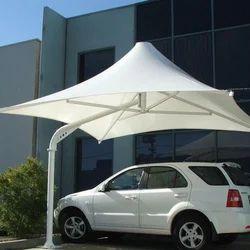 Modular Pyramid PVC Tensile Umbrella Structure