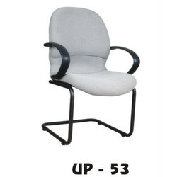 White Visitor Chair